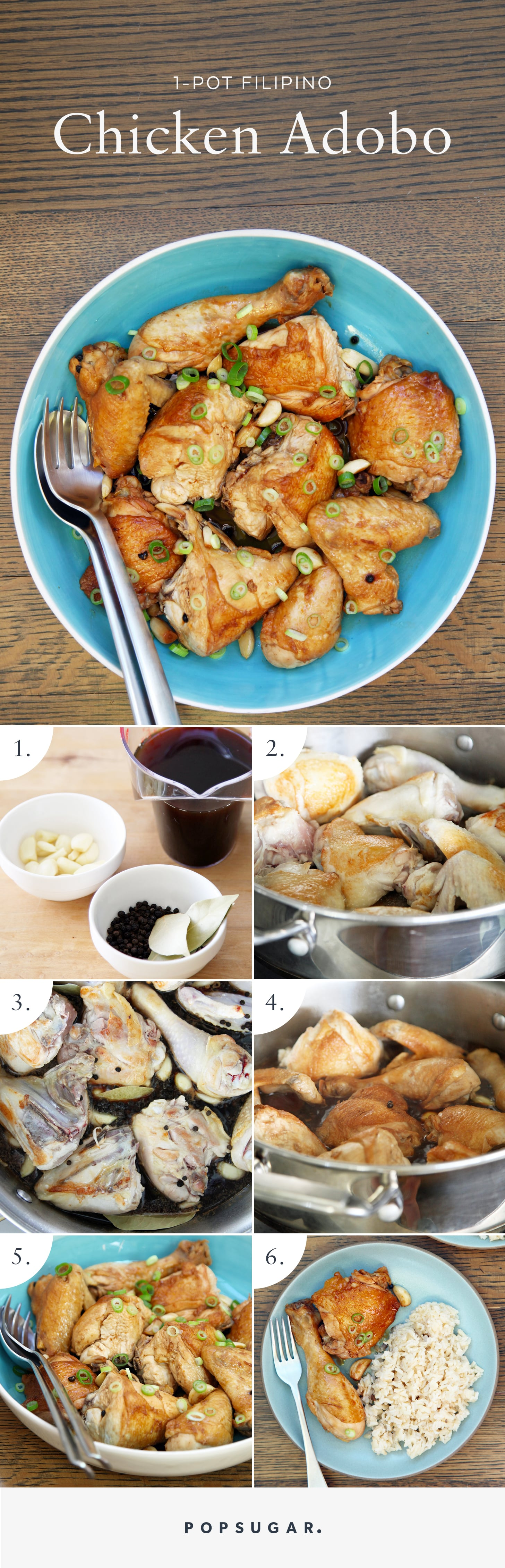 Traditional filipino chicken adobo recipe popsugar food directions forumfinder Image collections