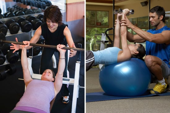 how to tell if your personal trainer is flirting