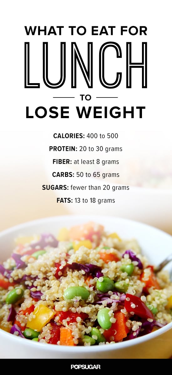 What to Eat For Lunch to Lose Weight | POPSUGAR Fitness