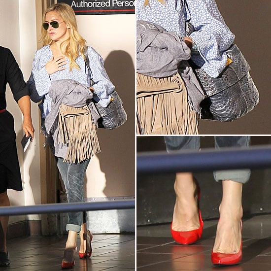 Kate Hudson Airport Style October 2012 Popsugar Fashion