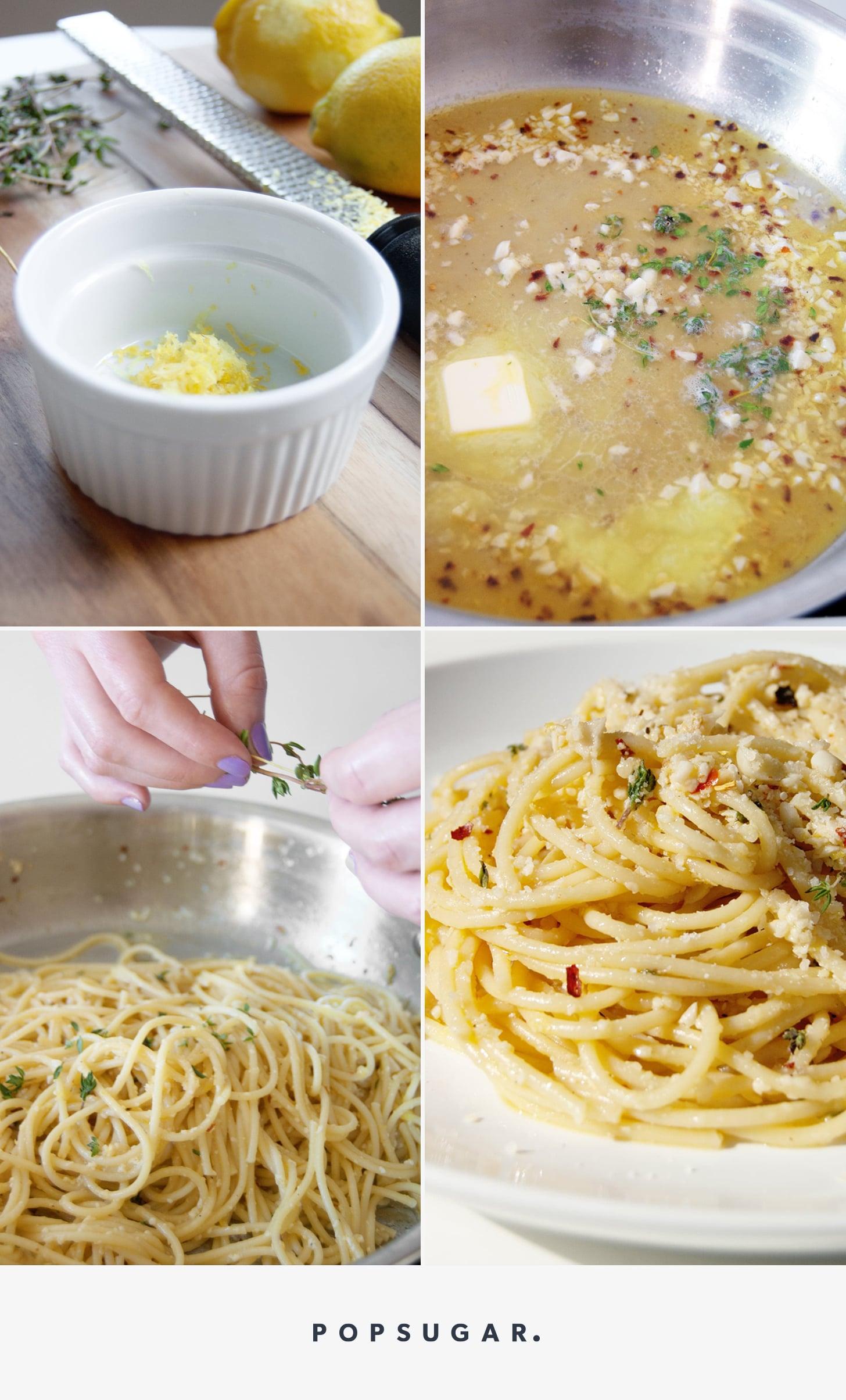White Wine Lemon Butter Pasta Sauce
