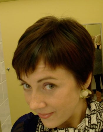 Short-Haired Bella After