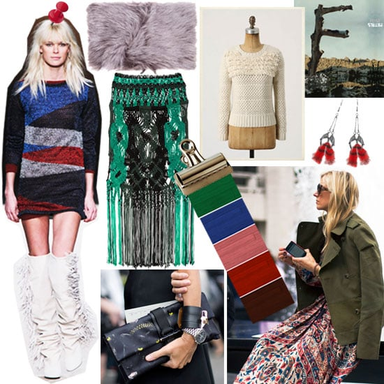 Fall Fashion Mood Board Popsugar Fashion