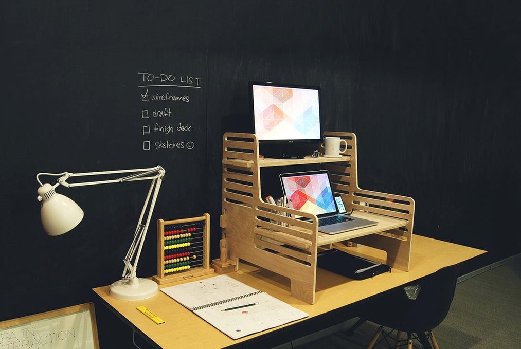 Portable Standing Desk Popsugar Tech