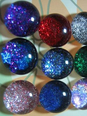 Emerald Sparkle Earrings ($14)<br />