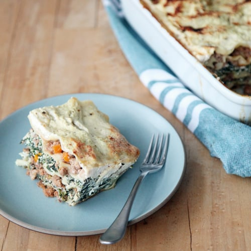 Lasagna Bolognese With Spinach