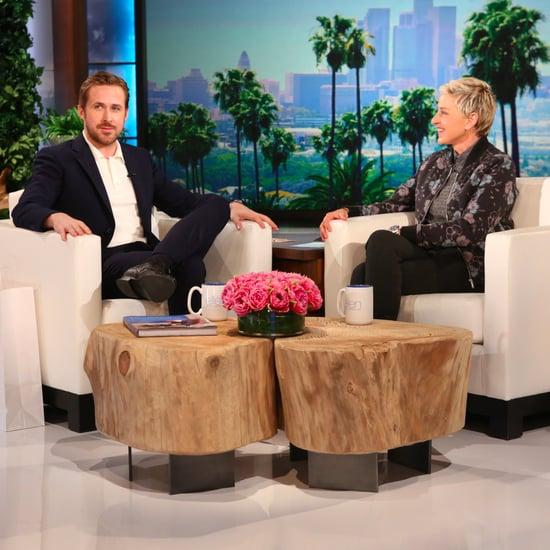 Ryan Gosling on The Ellen DeGeneres Show May 2016