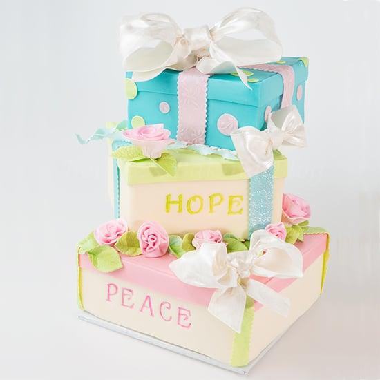 box cake tutorial