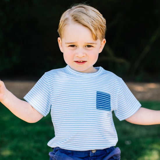 New Photos of Prince George on His Third Birthday