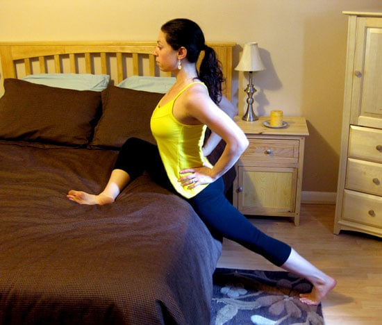 Bed Stretches Standing Pigeon For Tight Hips Popsugar