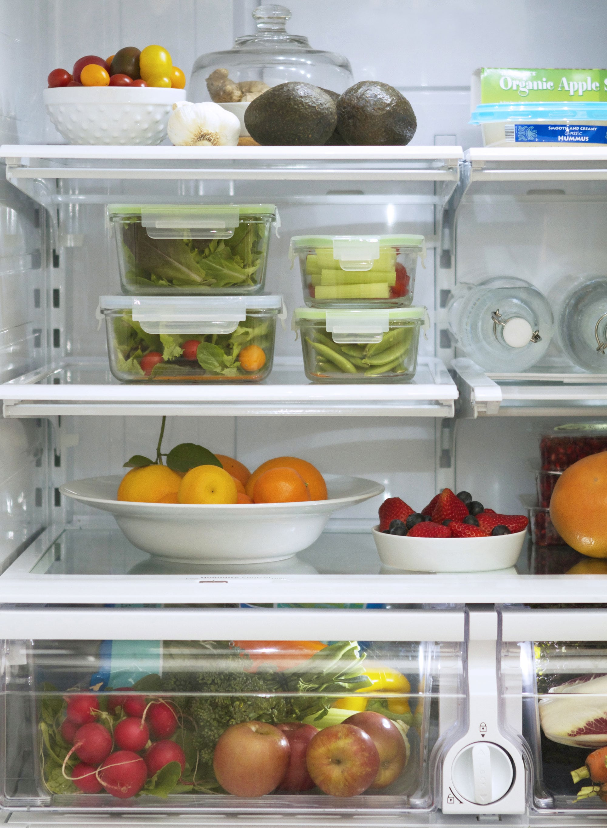 Ways Your Fridge Can Help You Lose Weight | POPSUGAR Fitness Organized Refrigerator Healthy