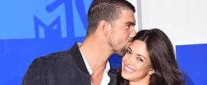 Michael Phelps and Nicole Johnson Steal the Red Carpet Spotlight at the VMAs