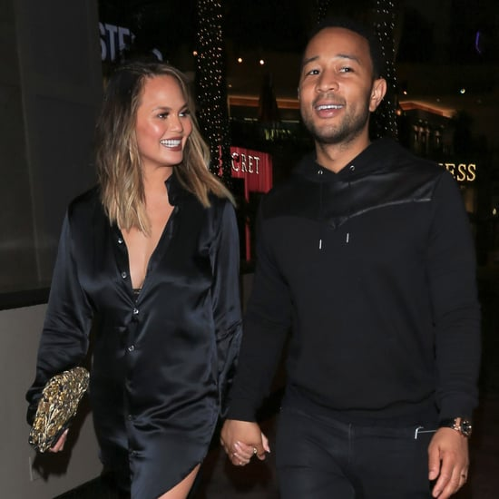 Chrissy Teigen and John Legend in LA June 2016