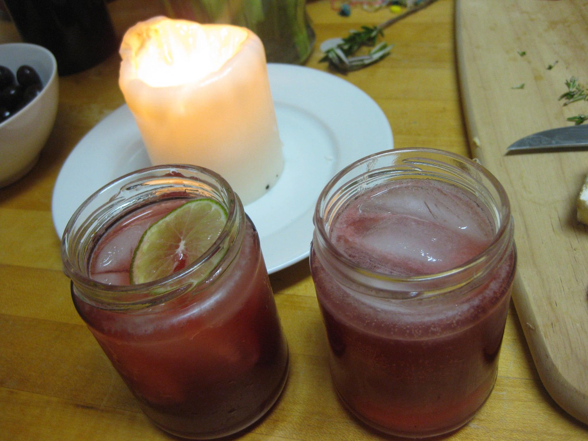 Sour Cherry Gin Cocktail Recipe — Dishmaps