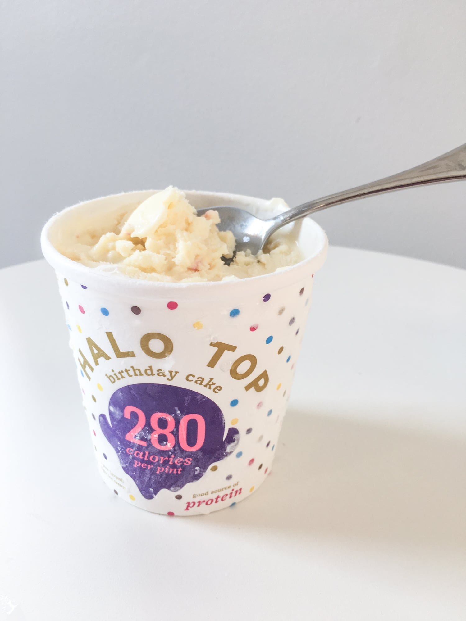 Birthday Cake Ice Cream Halo Top