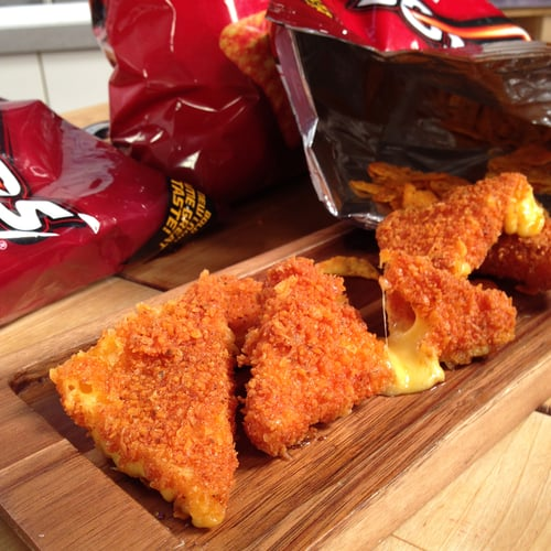 Cheese-Stuffed Doritos