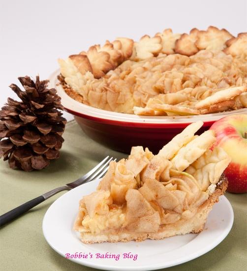 Fancy  Ribbon Apple Pie