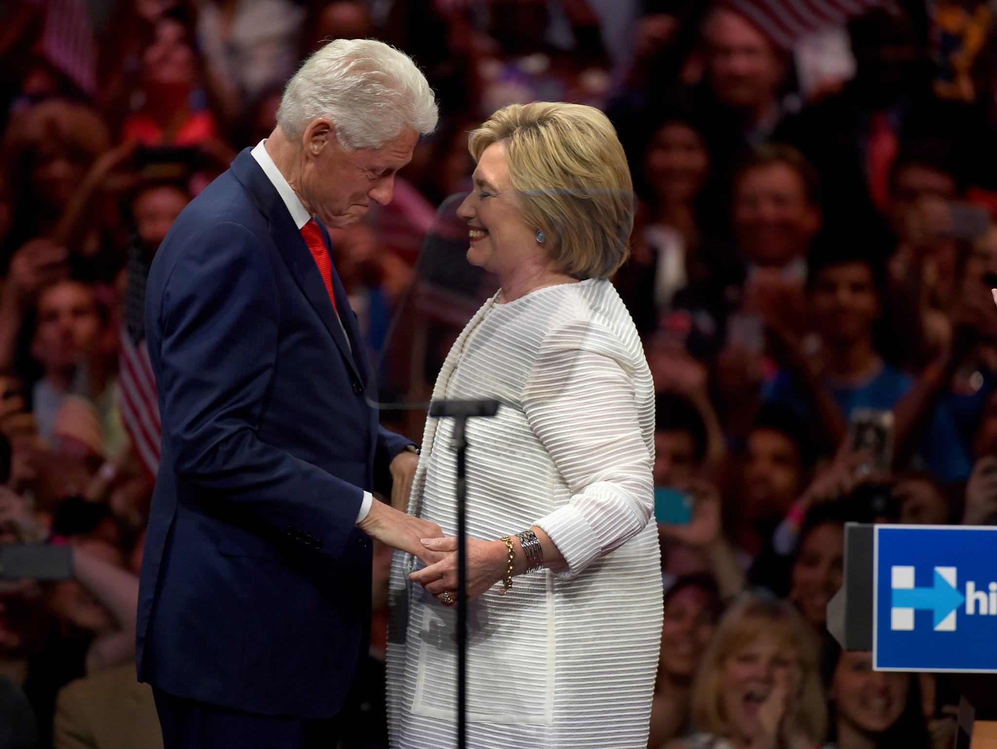 how did hillary clinton meet bill clinton popsugar news
