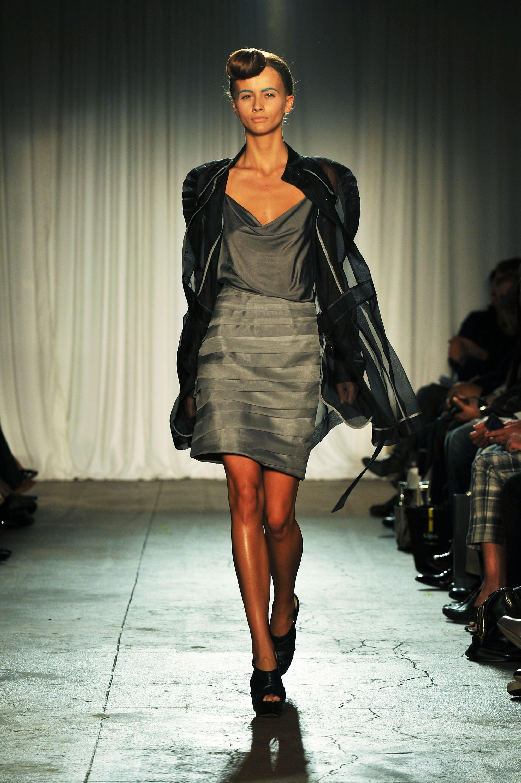 New York Fashion Week, Spring 2009: Christian Siriano ...