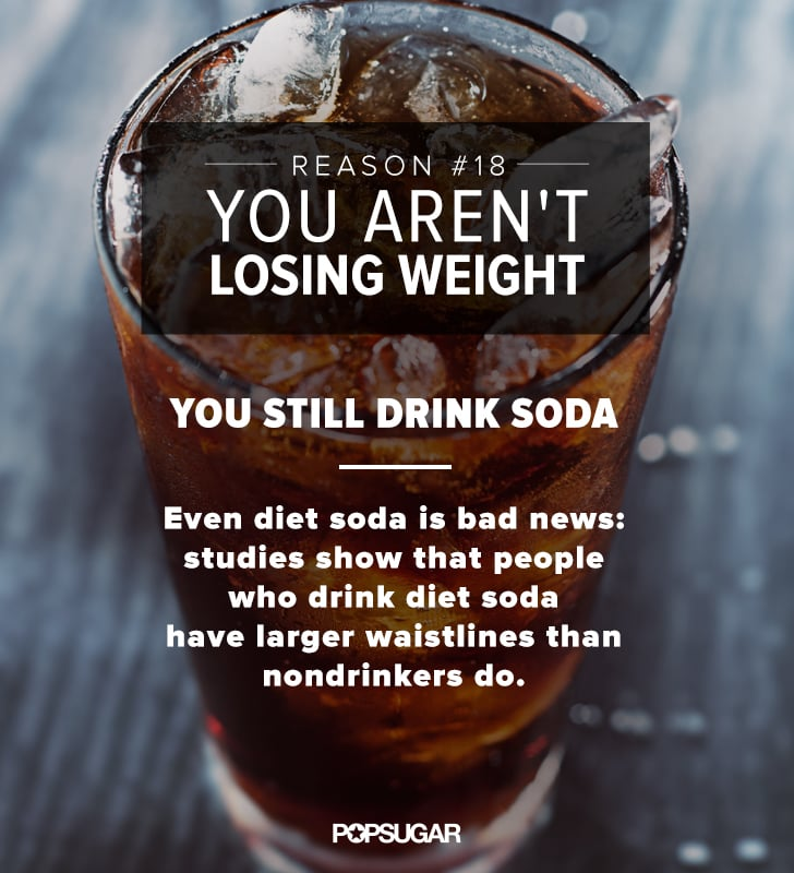 Quit Drinking Soda Lost Weight