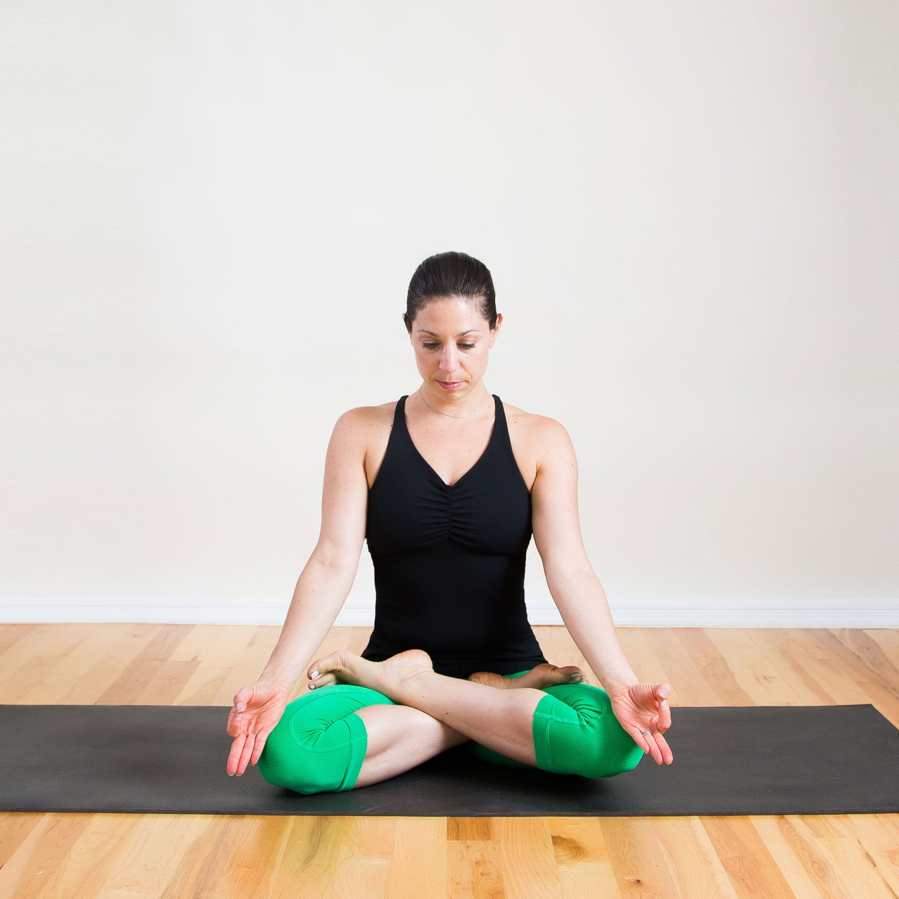 Strike A Yoga Pose Lotus Popsugar Fitness
