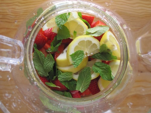 Strawberry and Tequila Cooler