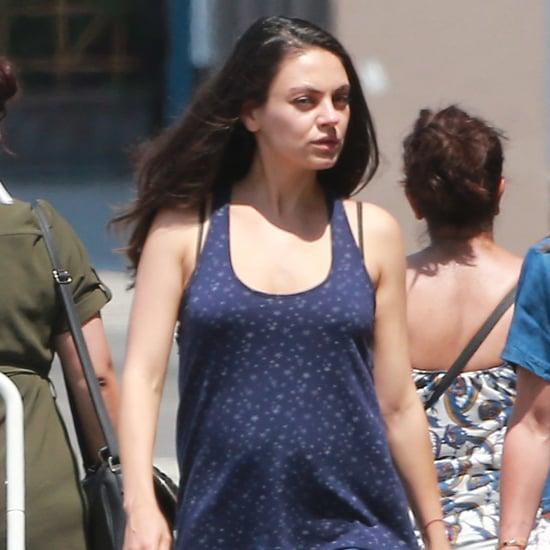 Mila Kunis in LA After Pregnancy News June 2016   Pictures