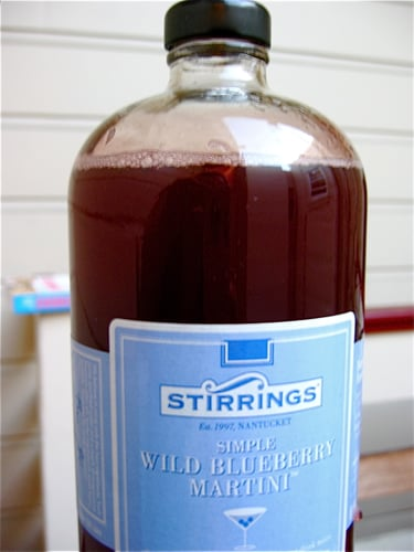 Wild Blueberry Martini