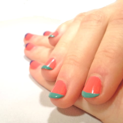 How to french nails