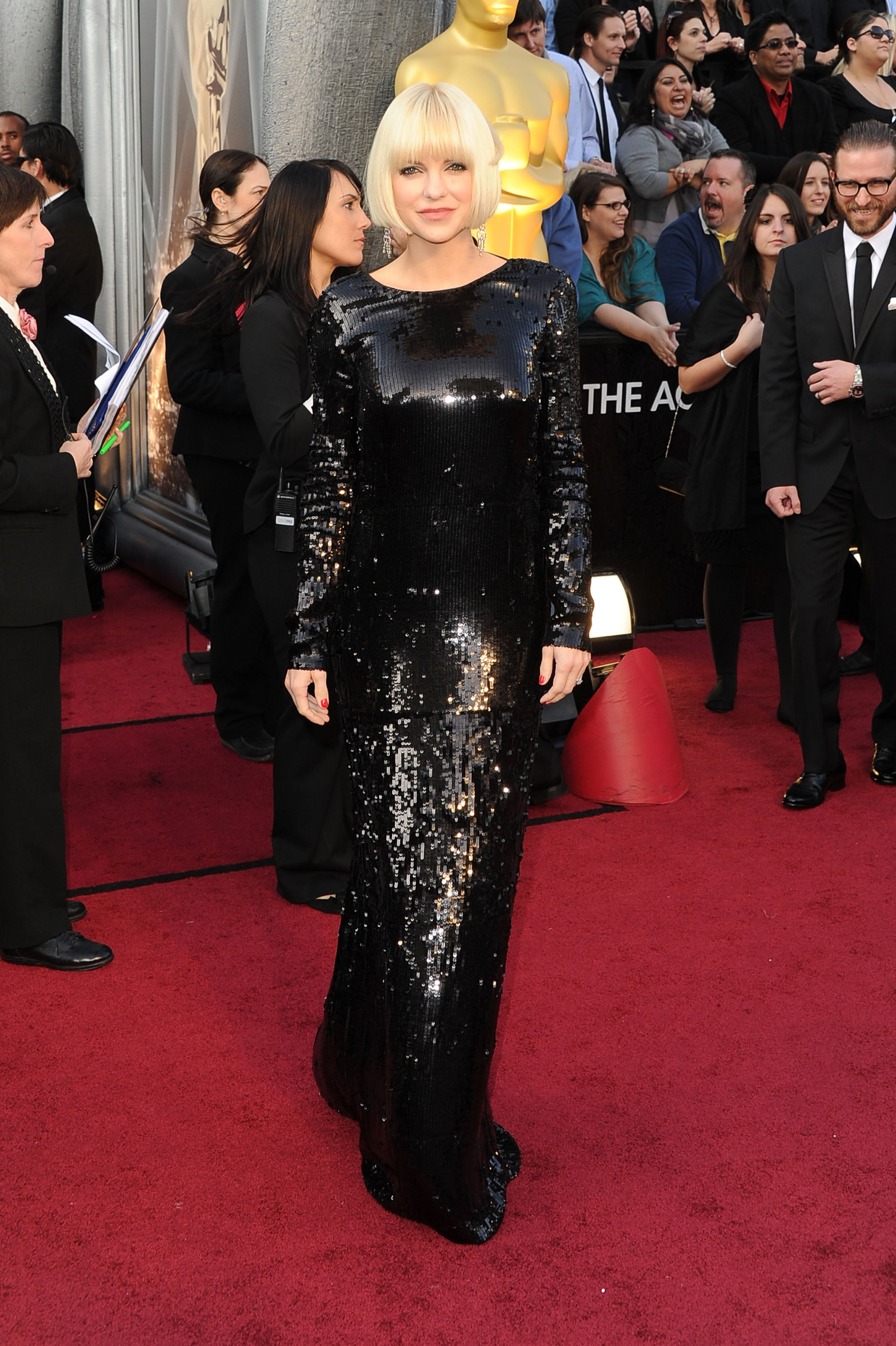 2012 Oscars Red Carpet Celebrity Pictures And Dresses