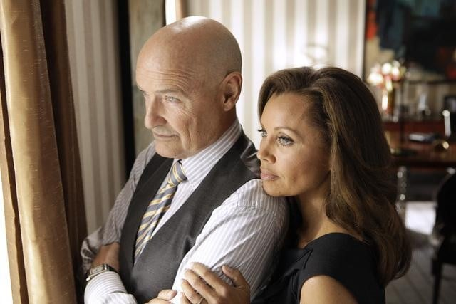 Terry O&#039;Quinn and Vanessa Williams on 666 Park Avenue.