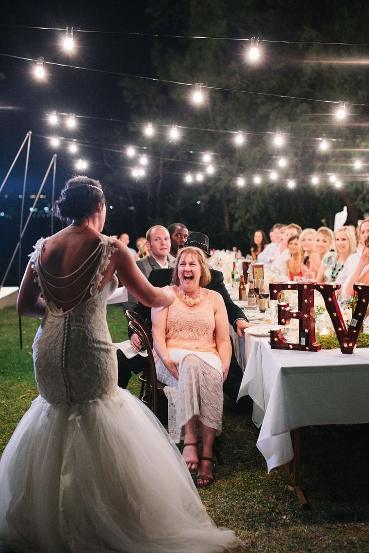 PopsugarLoveWeddingThings Brides Should Avoid Doing in Front of Their Guests5 Things a Bride Should Never Do in Front of Her Wedding GuestsJune 1, 2015 by Brides56 SharesChat with us on Facebook Messenger. Learn what's trending across POPSUGAR.Without a doubt, it's the bride's day on her wedding. However, there are some things that she should never do in front of guests. Our friends at Brides break down some crucial things a bride should never do.Yes, it's your wedding and it's your day and you are the bride. But that doesn't give you a license to be rude or inappropriate about anything with your fiancé, family, friends, or vendors. In fact, if you misbehave, that will be the most memorable and talked about part of your entire wedding. Don't embarrass yourself. You'll be sorry. To avoid getting a
