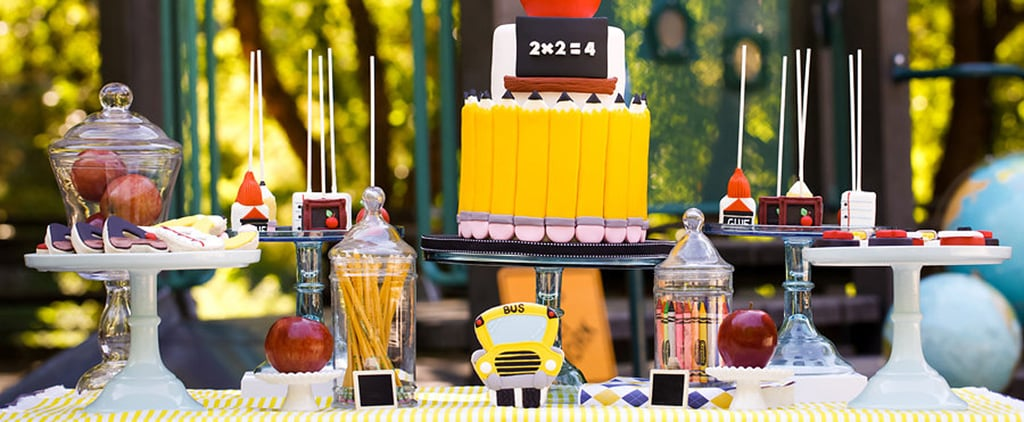 You'll Want to Take Some Notes on This Epic Back-to-School Party