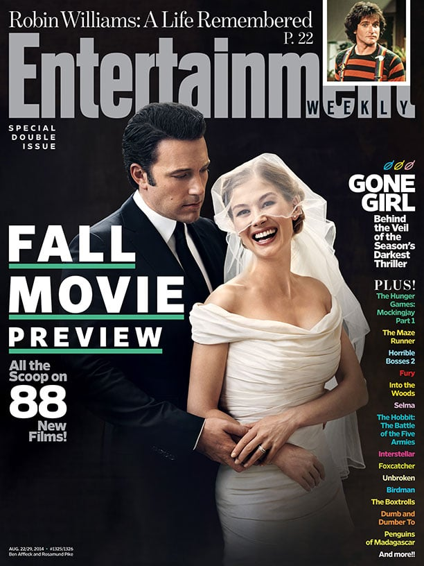 gone girl entertainment weekly cover popsugar entertainment