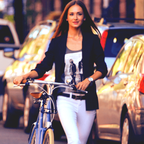 How to Wear White Jeans Year Round