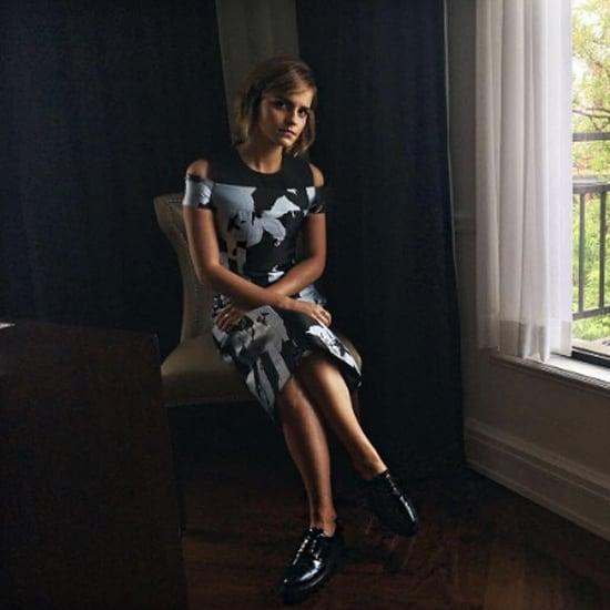 Emma Watson's J. Mendel Dress June 2016