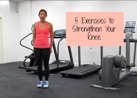 5 exercises to strengthen your knee