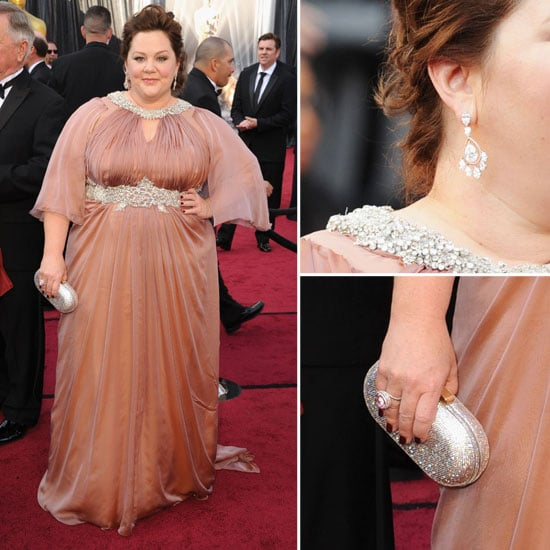 Bridesmaids Star Melissa McCarthy Goes Glam at the 2012 ...