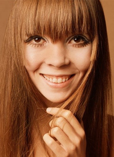 Lovely lashes in 1967.<br />