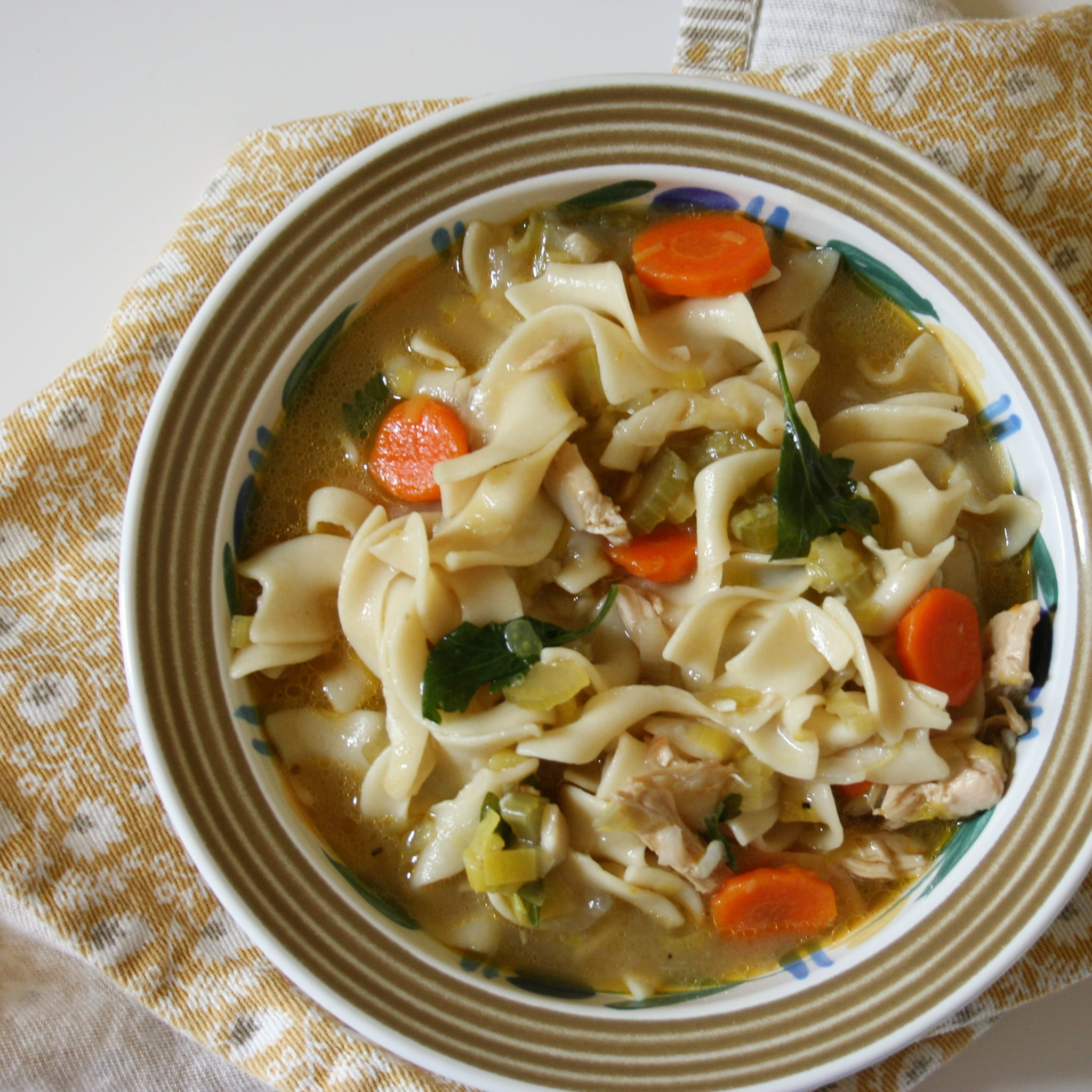 Easy chicken noodle soup recipe popsugar food forumfinder Image collections
