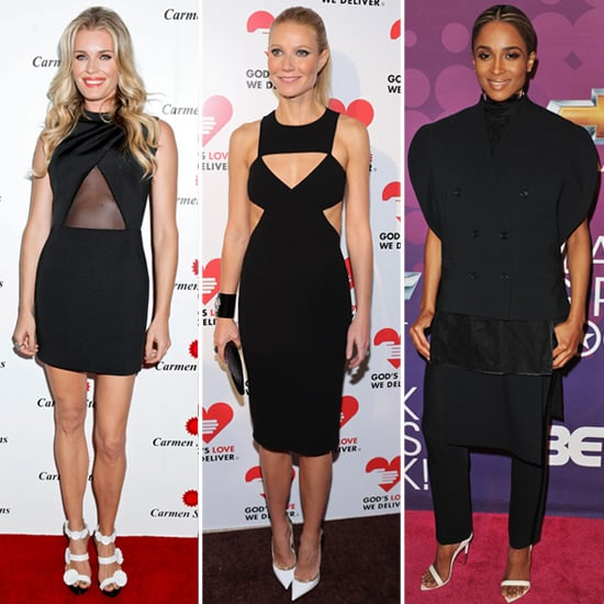 Black Dresses With White Shoes | Celeb Pictures and Shopping ...