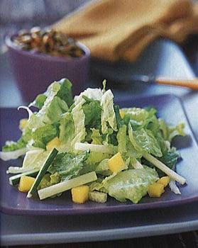 Mango Jicama Chopped Salad