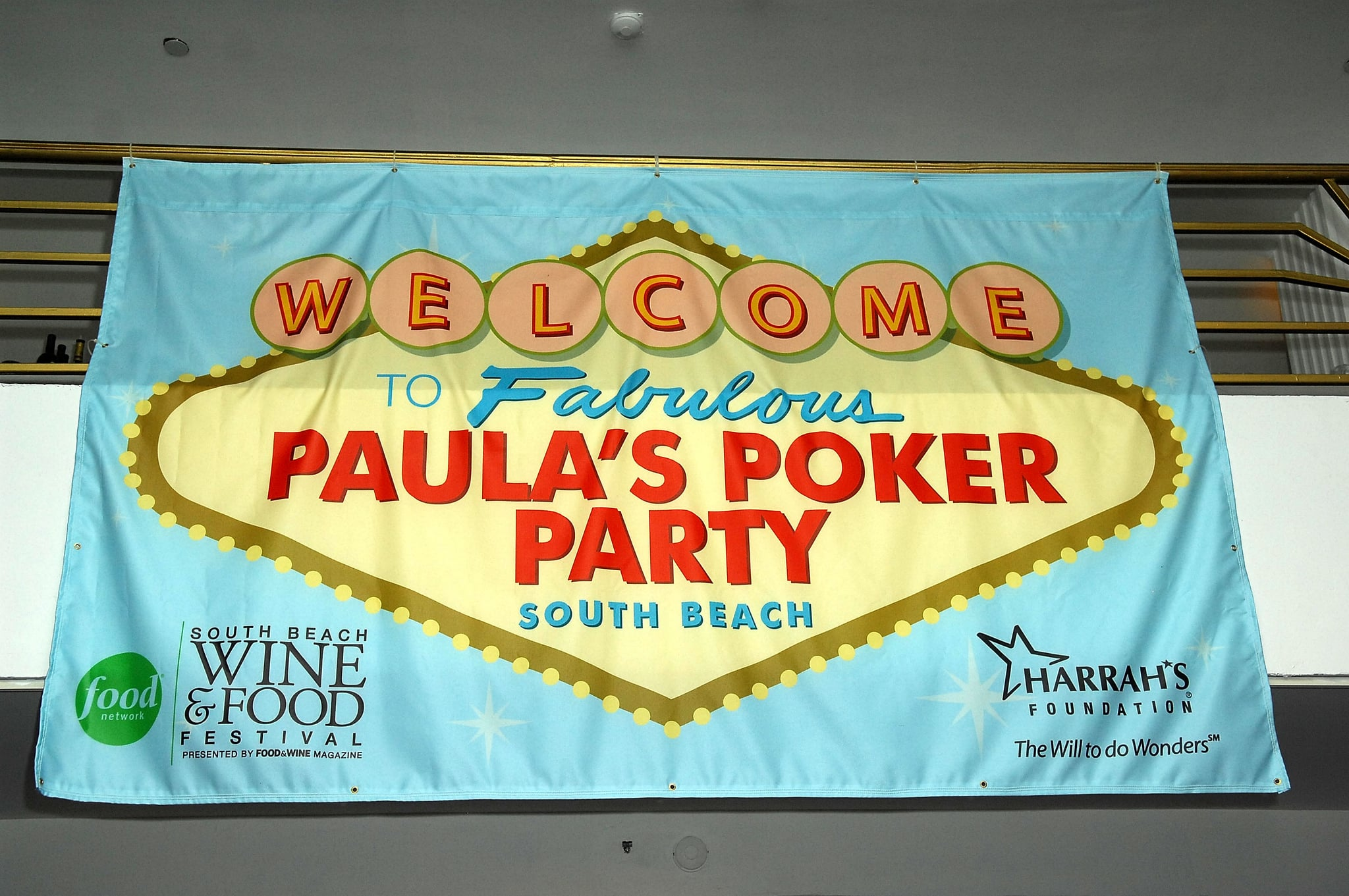 Paula's Poker Party at The South Beach Wine & Food Festival