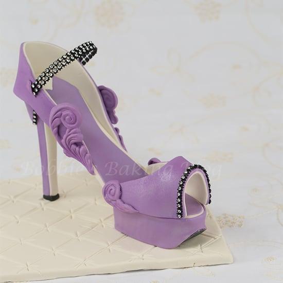 fondant high heel