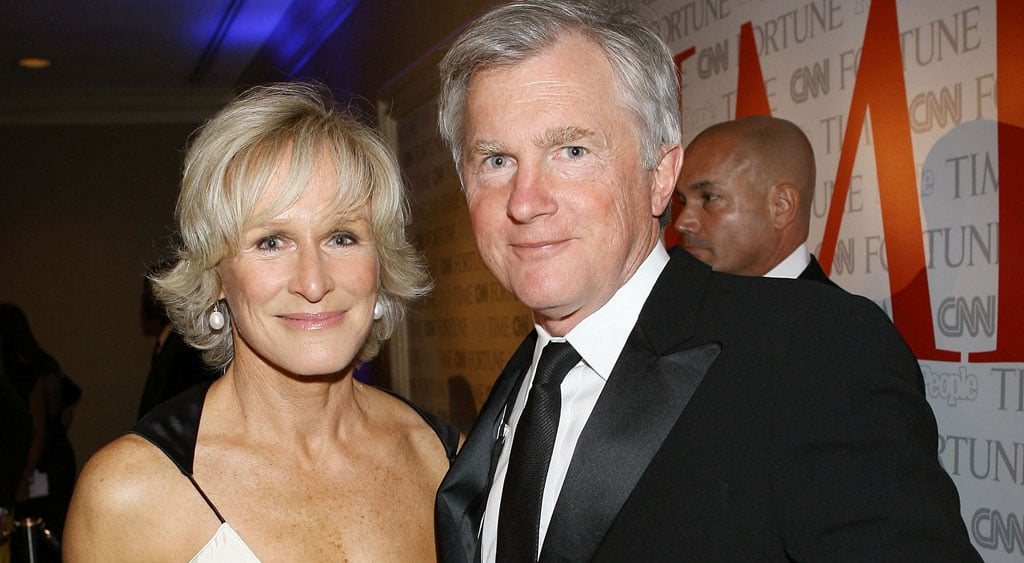 glenn close and david shaw divorce popsugar celebrity