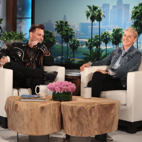 Johnny Depp on The Ellen Show May 2016