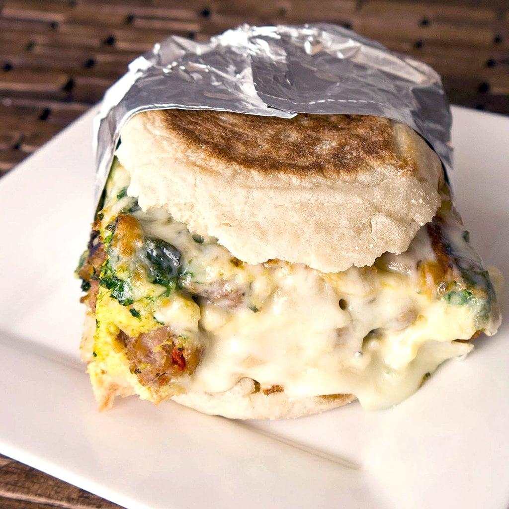 Make Mornings Easier With This Make-Ahead Breakfast Sandwich
