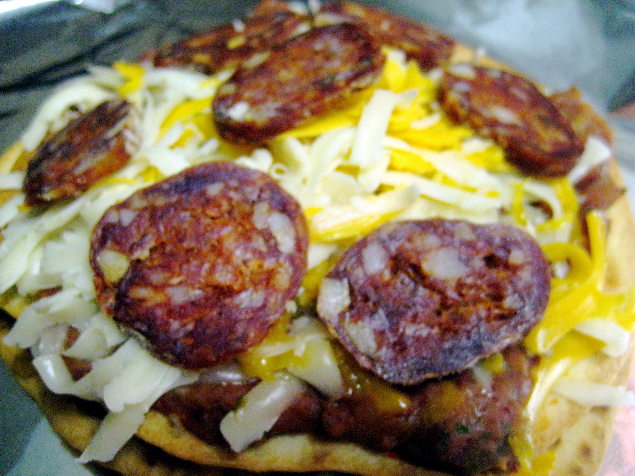 Chorizo. Need I say more?