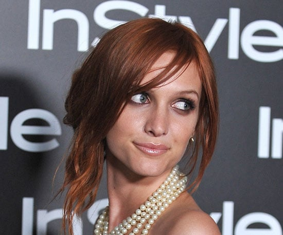 How To Ashlee Simpson S Laid Back Asymmetric Updo