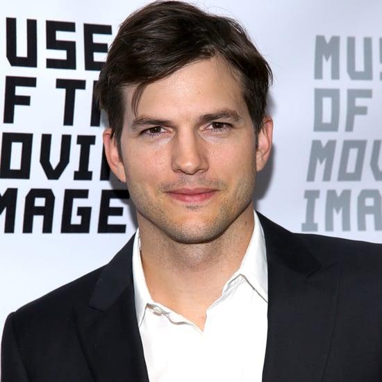 Ashton Kutcher Talks About His Daughter August 2016